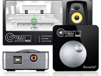 Focusrite VRM Box, simulación de entornos de mezcla al instante