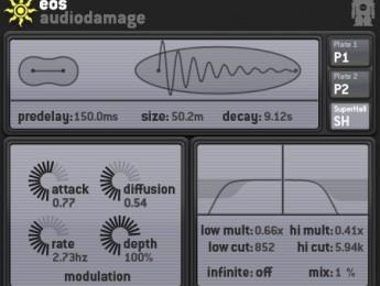 Audio Damage actualiza Eos