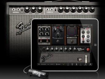 AmpliTube Fender para iPad disponible