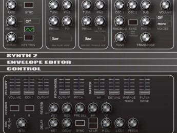 El sinte TAL-NoiseMaker de Togu Audio Line alcanza la tercera versión