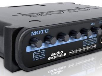 Nueva interfaz Audio Express de MOTU