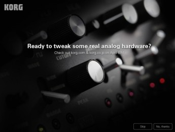 Korg presentará hardware analógico en la Musikmesse