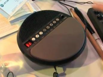 Korg Wavedrum Mini en funcionamiento