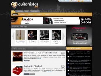 Guitarristas.info se une a la plataforma web de Hispasonic