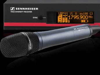 Sennheiser presenta sistemas que transmiten en frecuencias de 1800 MHz
