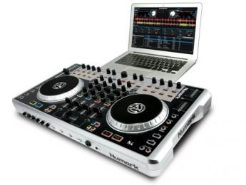N4, controlador y mixer de Numark