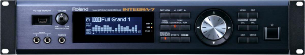 Integra-7, el módulo SuperNATURAL de Roland | Hispasonic