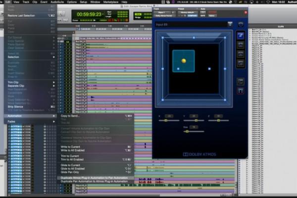 Pro Tools 12.8 HD llega con paneo 3D e integración de Dolby Atmos