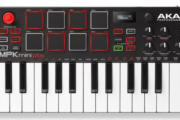 Akai MPK Mini Play, de controlador a sintetizador trotamundos