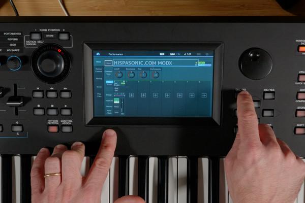 Review de Yamaha MODX, versatilidad portable