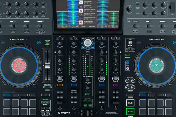 Denon Prime 4, el todo en uno de cuatro canales para DJs
