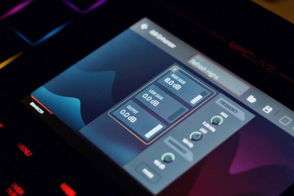 Akai MPC 2.4 introduce efectos de Pro Tools en su nuevo firmware y software