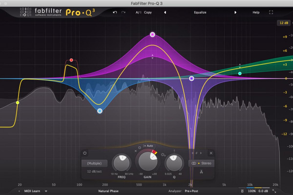 Review de FabFilter Pro-MB, plugin compresor multibanda