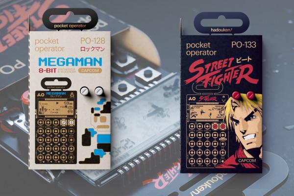 Teenage Engineering lanza dos Pocket Operators basados en Mega Man y Street Fighter