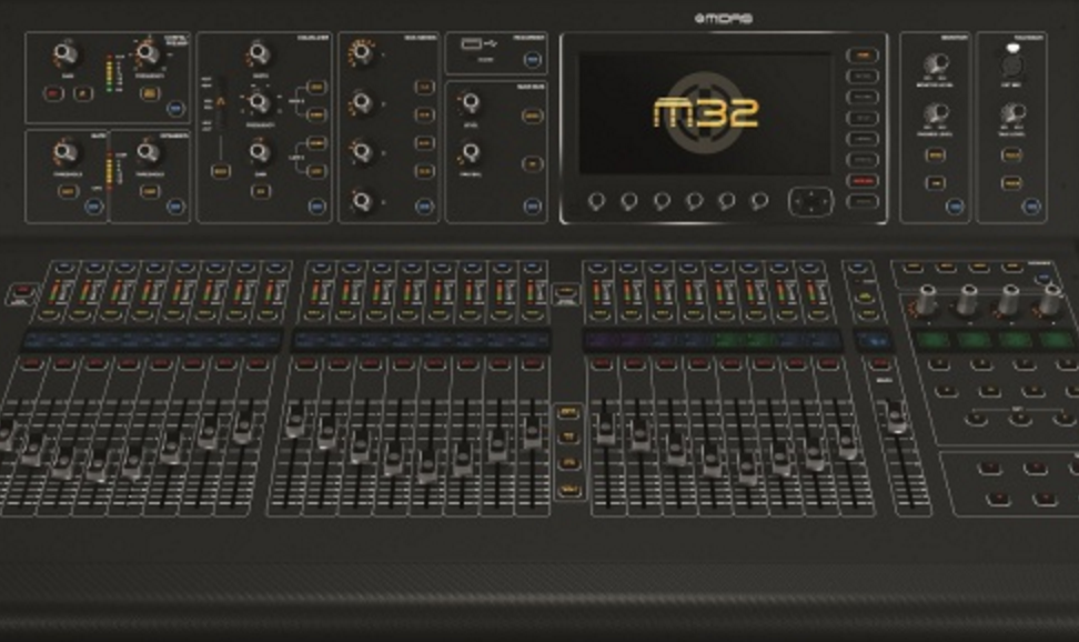 Midas M32 Nueva Mesa Para Directo Y Estudio Hispasonic