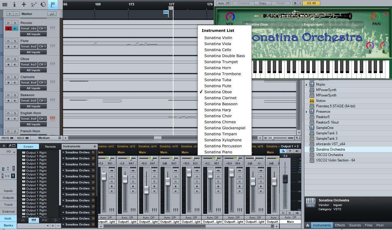 Sonatina Orchestra Module