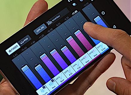 monitormix la app para control de mezcladores de yamaha