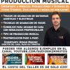 Master Class de Producción Musical en Barcelona!