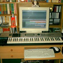 Mi homestudio en 2001 (II)