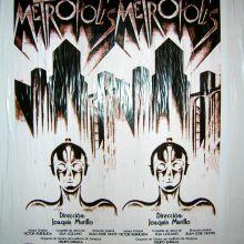 """Primer cartel de """"Metrópolis"""""""