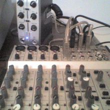 mesa de mezcla