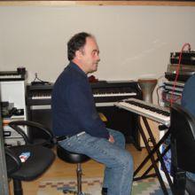 Ferran gravando los demosmidis en Reclab