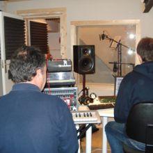 Francesc y Ferran en estudios Reclab