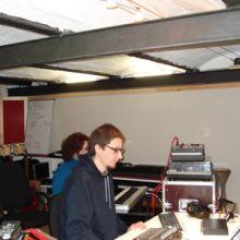 Francesc en su estudio de Reclab