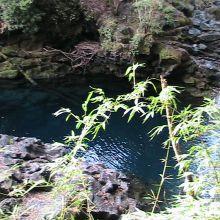 lagunas azuladas
