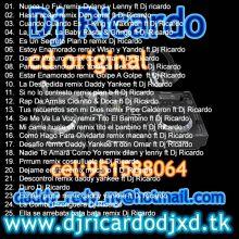 cd original dj ricardo
