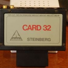 Retroinformática: Steinberg Card 32