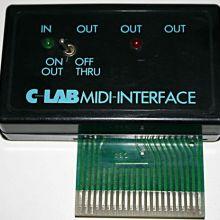 Retroinformática: interfaz MIDI de C-Lab