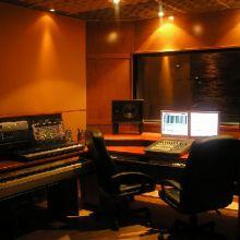 Sala de control y grabación de Mundo Sinfónico.