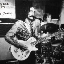 Marty Brunet with Fusion. 1972. Ibiza