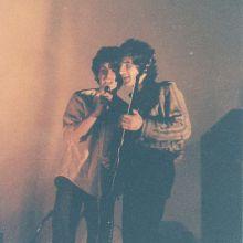Darío y Quique en el San Martín 1984