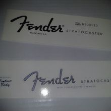 Fender Decals