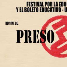 Festival por la educación publica y por el boleto educativo universal y gratuito