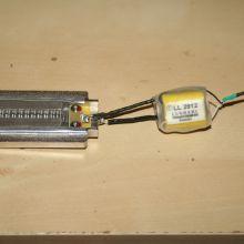motor de cinta + lundahl 2912