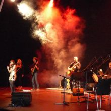Durante la presentación del CD de Shani Ormiston