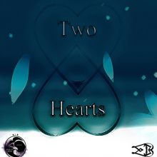 Two Hearts - (Majestic Blue)