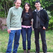 Sorka, Navalón y yo.