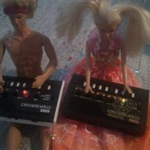 Chemical Ken & Techno Barbie
