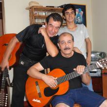CAFÉY ANÍS con Nicolás en casa19-03-11