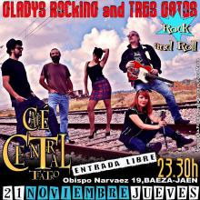 Gladys Rocking and Tres Gatos
