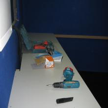 mesa del control