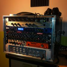 Rack del estudio 2013