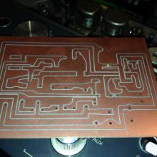 Placa PCB para previo de micro