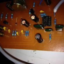 Previo de micro con transistores Fairchild