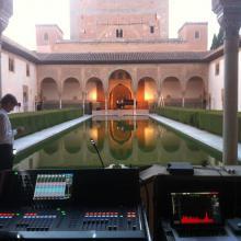 Michael Nyman en la Alhambra