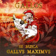 Cartel para gallus maximus 2014